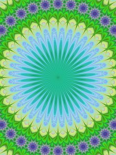 Abstract floral mandala ornament design background vector
