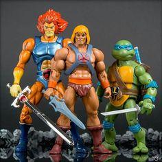 Brothers In Arms! #80S #Thundercats #HeMan #Tmnt #NinjaTurtles #TartarugasNinja #LionOn #Bonequinhos #LiveAction #PipocaComBacon