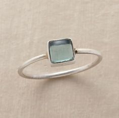 STORM AT SEA RING - Single Stone - Rings - Jewelry Robert Redford%27s Sundance It's elegant and classic, and sooo dainty I love it!
