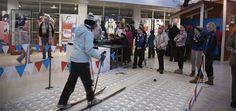 Skiing museum in Lahti #skiing #Lahti #Finland