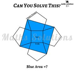 Geometry Problems, Maths Solutions, Math Questions, Blue Area, Mathematics, Physics, Learning, Puzzles, Curves