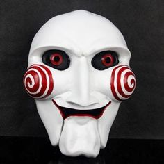 2015  2014 Most New Jigsaw Mask Puppet Mask Horror Scary Party Mask For Halloween *** Visit the image link more details.