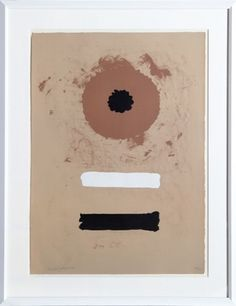 Sérigraphie - Adolph Gottlieb - Two bars