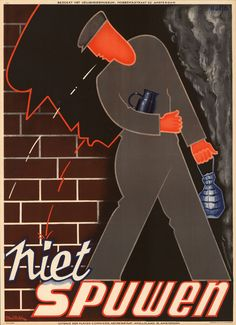 Dutch Safety posters ~ Strelitskie