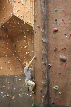 ROCKHAUS indoor climbing gym - Logan, Utah   I personally don't do this, but if you do, I hear Rockhaus is great.