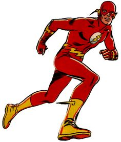 The Flash (Barry Allen), a re-imagining of the Flash character from the usually considered the first new superhero of the Silver Age (created by Robert Kanigher, John Broome and Carmine Infantino; debuted in 1956 in Showcase Flash Barry Allen, Flash Animation, Univers Dc, Wally West, Kid Flash, Vintage Flash, Dc Comics Superheroes, Lex Luthor