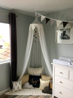 Delaney's Magical, Story-Themed Nursery nook