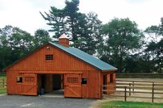 Belmont Horse Barn how to build a barn on a budget