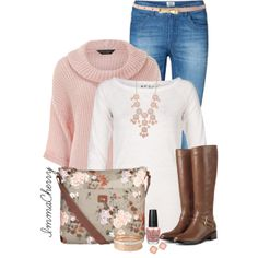Pastels For Winter, created by immacherry on Polyvore