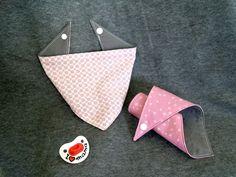Dreieckstuch für Babys nähen | www.fantasiewerk.ch