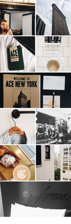 ace hotel nyc   Crafted & Curated. Must try their coffee .....