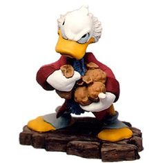 WDCC Mickey Christmas Carol Scrooge Mcduck Ornament Bah-Humbug