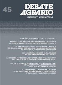 Debate Agrario (Centro Peruano de Estudios Sociales - CEPES)