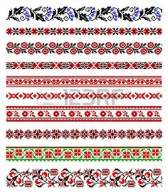 SMALL PATTERN - illustrations of ukrainian embroidery ornaments, patterns, frames and borders. Stock Photo - 8877438 Vector - illustrations of ukrainian embroidery ornaments, patterns, frames and borders. Geometric Embroidery, Folk Embroidery, Japanese Embroidery, Cross Stitch Embroidery, Embroidery Patterns, Cross Stitch Borders, Cross Stitch Charts, Cross Stitching, Cross Stitch Patterns