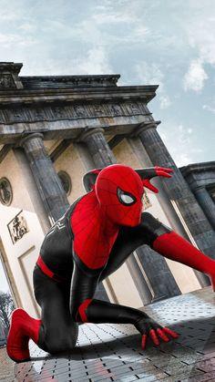 Spider-Man: Far From Home textless poster Spiderman Kunst, Spiderman Spider, Amazing Spiderman, Spiderman Costume, Marvel Fan, Marvel Heroes, Marvel Avengers, Marvel Comics, Marvel Films