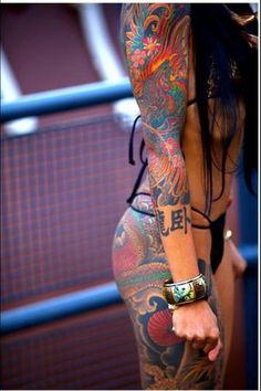 Sexy Tattooed Chicks See More : http://luxurystyle.biz/tattoo/