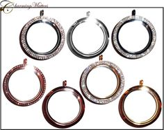 XL Extra Large 39mm Round Magenetic Stainless by CharmingMatters