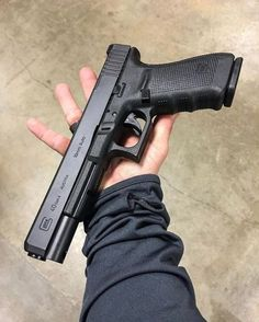 Glock 40 Having sore fingers from reloading your magazines? Glock Guns, Weapons Guns, Guns And Ammo, Ps Wallpaper, Custom Guns, Custom Glock, Military Guns, Hunting Guns, Cool Guns