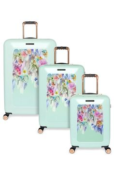 Ted Baker London 'Small Sugar Sweet Floral' Suitcase (21 Inch) | Nordstrom
