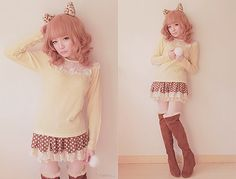 cute kawaii baby doll outfit