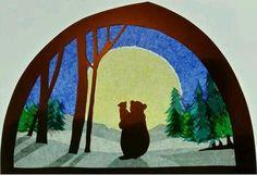 Детство гномиков Autumn Crafts, Nature Crafts, Hanging Star Light, Ribbon Crafts, Paper Crafts, Tissue Paper Art, Waldorf Crafts, Art Template, Window Art