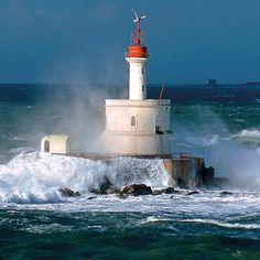 Morbihan : Phare la Teignousse (phare en mer - Presqu'île de Quiberon)