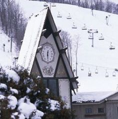 Boyne Mountain, Michigan. Can always count on the Mountain being open late into spring. I love that about this place