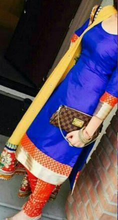 #DesignerPajamiSuitOnline #BuyPajamiSuitSale #LatestPajamiSuitOnline #StylishPajamiSuitSale  Maharani Designer Boutique  To buy it click on this link :  http://maharanidesigner.com/…  Fabric:Glace cotton  Duppata (Heavy laces work)Rs.6000 Sab Kuch Bikta Hai Online's photo.