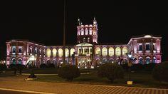 Asuncion City at night - Palacio de Lopez, Asuncion - Paraguay