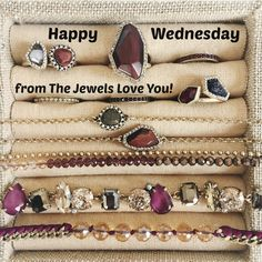 Happy Wednesday! Click thru to visit the new collection! #TheJewelsLoveYou