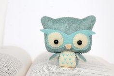 Felt Owl Plush pattern on Craftsy.com