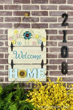 Wood Pallet Sign Wood DIY Projects