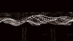 Christopher Bauder from WHITEvoid teamed up with Philips to create the LivingSculpture 3D module system. [GIF]