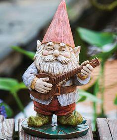 Strumming Gnome