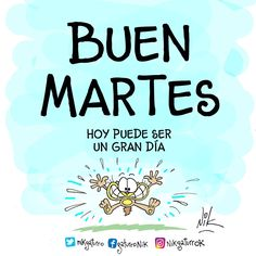 Days Of Week, Spanish Memes, Happy Tuesday, Dear Friend, Vocabulary, Good Morning, Quotations, Language, Teaching