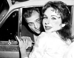 August 19, 1957 ... ELIZABETH TAYLOR, Leaving hospital with MIKE TODD.