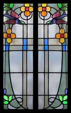 ART NOUVEAU-Stained cheerful: the air of romanticism was more evident than ever