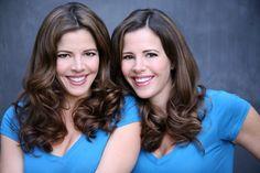 Heidi and Alissa Kramer  . . .  Wrigley's Doublemint Gum Twins