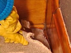Carpet Removal : Home Improvement : DIY Network