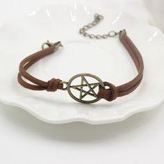 A pentagram, or pentacle, is a symbol or amulet used for protection. Unlike what is commonly believed, pentacles are a very powerful protection against evil. Suitable for men and women to wear. Length