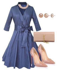 """""""Untitled #126"""" by candicegeorge on Polyvore featuring Christian Louboutin, Yves Saint Laurent and Chanel"""