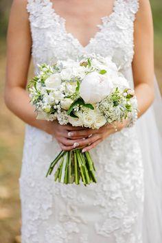 Lush peonies and roses   Photography: Calli B Photography - www.callibphotography.com.au  Read More: http://www.stylemepretty.com/australia-weddings/2015/05/21/rustic-sunshine-coast-wedding-at-kenilworth-homestead/