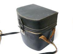 Vintage Leather Camera Lens Bag Case, Leather Shoulder Camera Bag, black evening bag, vintage shoulder bag, vintage women's bag  This is a very nice camera bag. The bag is ... #lomography