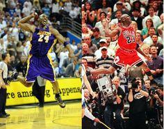 Greatness. Kobe and Michael.