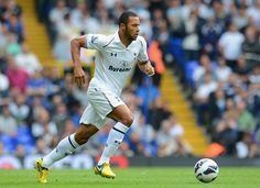~ Mousa Dembele on Tottenham Hotspur FC wearing Nike CTR360 Maestri III ~