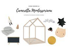 La cameretta Montessoriana. 10 proposte di design a misura di bimbo
