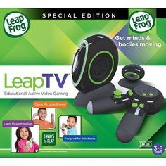 Game Collections - LeapFrog LeapTV Educational Active Video Game System  Black -- More info could be found at the image url.