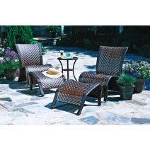 Living Accents Bella Nova 5 Piece Wicker Chat Set - Ace Hardware
