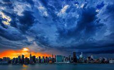 "Inga Sarda-Sorensen on Twitter: ""Stunning sky afire after stormy skies tonight…"