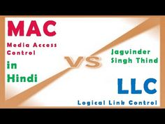 In this Video in hindi Jagvinder thind explains what is difference between Data Link Layer LLC Vs MAC sublayer in OSI Model in HIndi